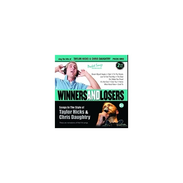 Idols - Winners and Losers - The Hits of Taylor Hicks & Chris Daughtry (2 CD Set)