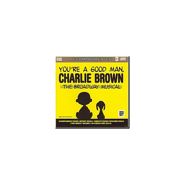 Youre A Good Man, Charlie Brown - The Broadway Musical  (2 CD Set)