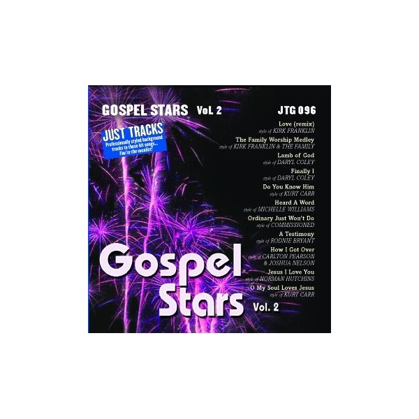 Just Tracks: Gospel Stars Vol. 2