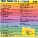 Just Tracks: Great Songs for All Singers (Women)