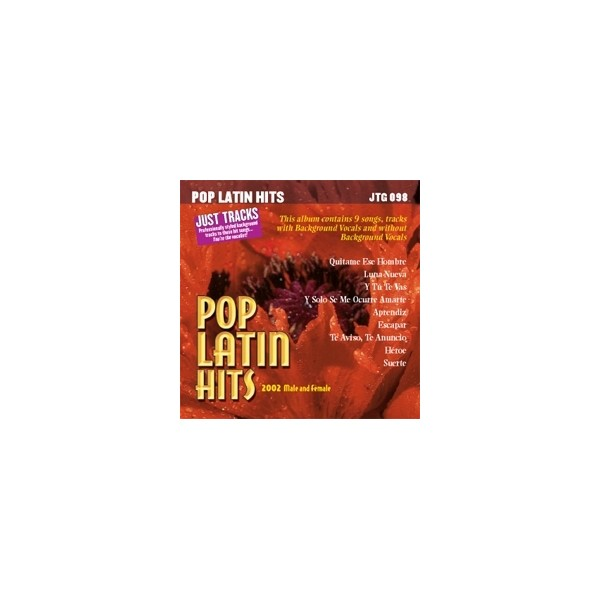 Pop Latin Hits: 2002 Male/Female