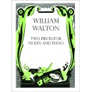 Two Pieces for Violin and Piano - Walton, William