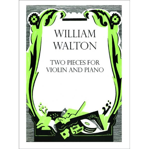 Two Pieces for Violin and Piano - Walton, William