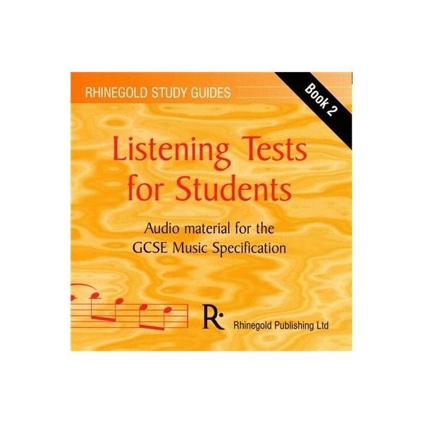 Ian Burton: AQA GCSE Music Listening Tests Book 2 - Audio CD