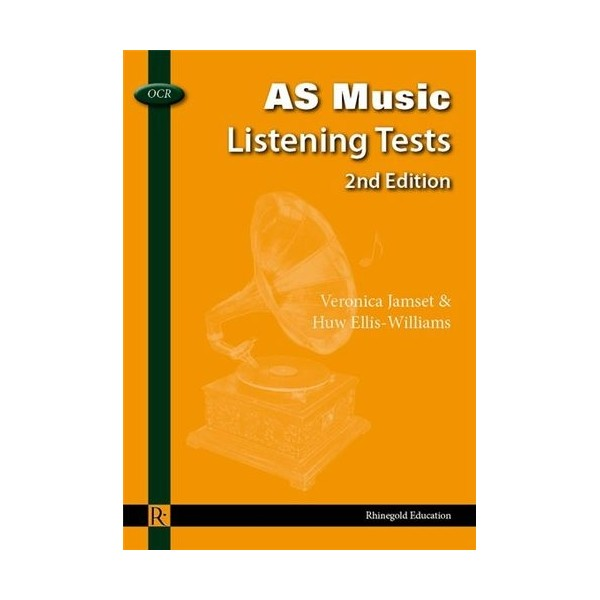Veronica Jamset/Huw Ellis-Williams: OCR AS Music Listening Tests Book - 2nd Edition