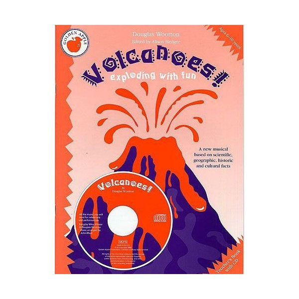Douglas Wootton: Volcanoes! (Teachers Book/CD) - Hedger, Alison (Editor)