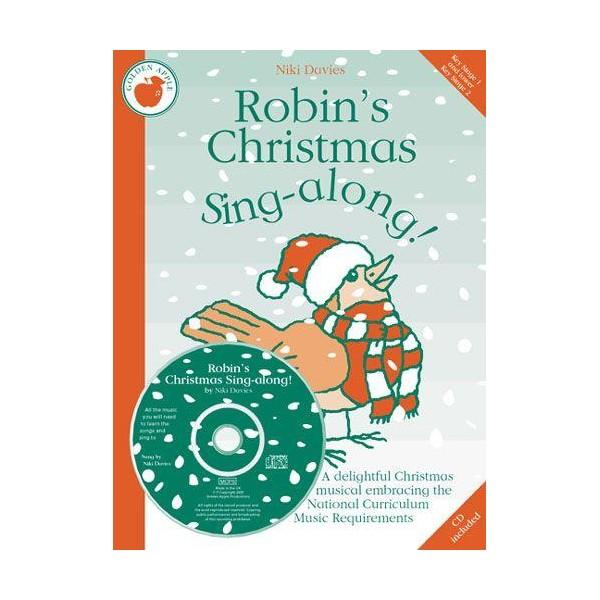 Niki Davies: Robins Christmas Sing-along! (Teachers Book/CD) - Davies, Niki (Composer)