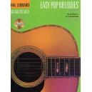 Hal Leonard Guitar Method: Easy Pop Melodies (CD Edition)