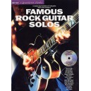 Guitar Signature Licks: Famous Rock Guitar Solos