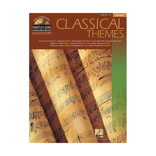 Piano Play-Along Volume 8: Classical Themes