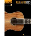 Hal Leonard Ukulele Method: Book 1 (Book + online audio)