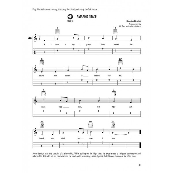 Hal Leonard Ukulele Method: Book 1 (Book + online audio)