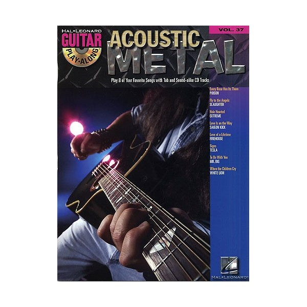 Guitar Play-Along Volume 37: Acoustic Metal
