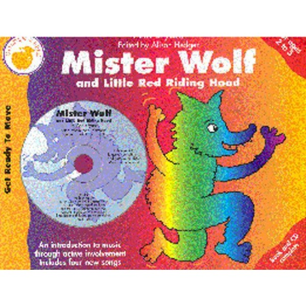 Ann Bryant: Mister Wolf (And Little Red Riding Hood) (Book/CD) - Bryant, Ann (Composer)