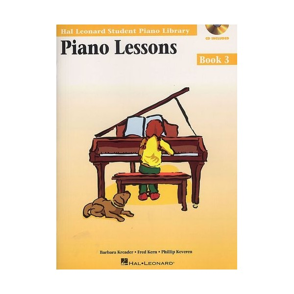 Hal Leonard Student Piano Library: Piano Lessons Book 3 (Book/CD)