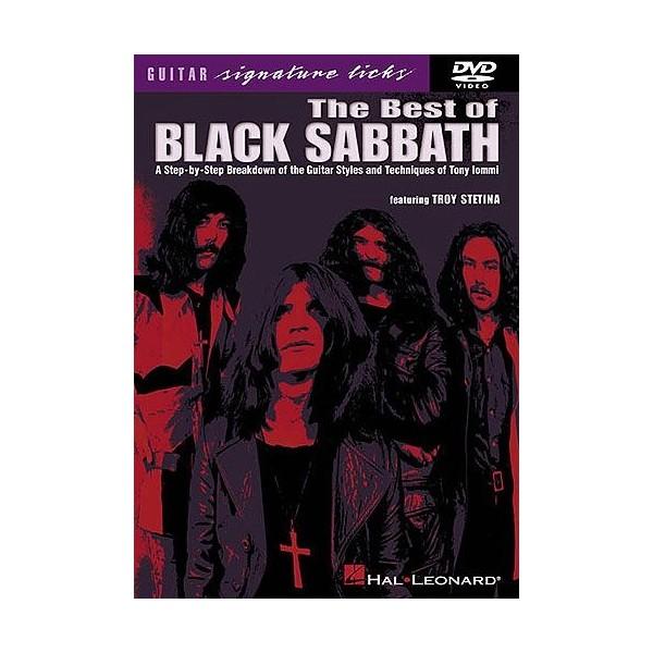 The Best Of Black Sabbath: Guitar Signature Licks (DVD)