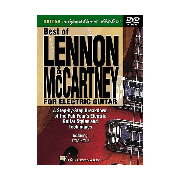 Best Of Lennon And McCartney For Electric Guitar DVD