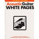 Acoustic Guitar White Pages