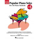 Hal Leonard Student Piano Library: Popular Piano Solos (Level 5)