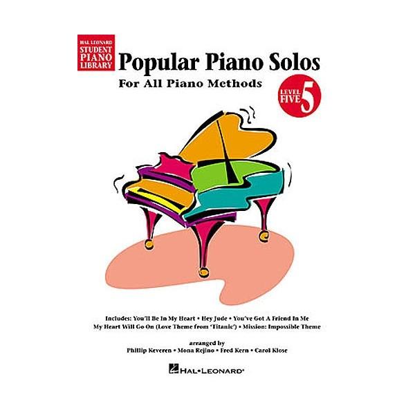 Hal Leonard Student Piano Library: Popular Piano Solos (Level 5)
