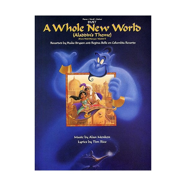 Alan Menken/Tim Rice: A Whole New World (Vocal Duet)
