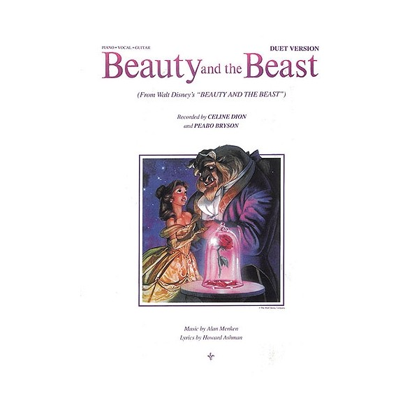 Alan Menken and Howard Ashman: Beauty And The Beast For Piano, Violin And Guitar (Duet Version)