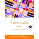 Pianoworks Book 2 - A tutor for the older beginner  - Bullard, Janet  Bullard, Alan