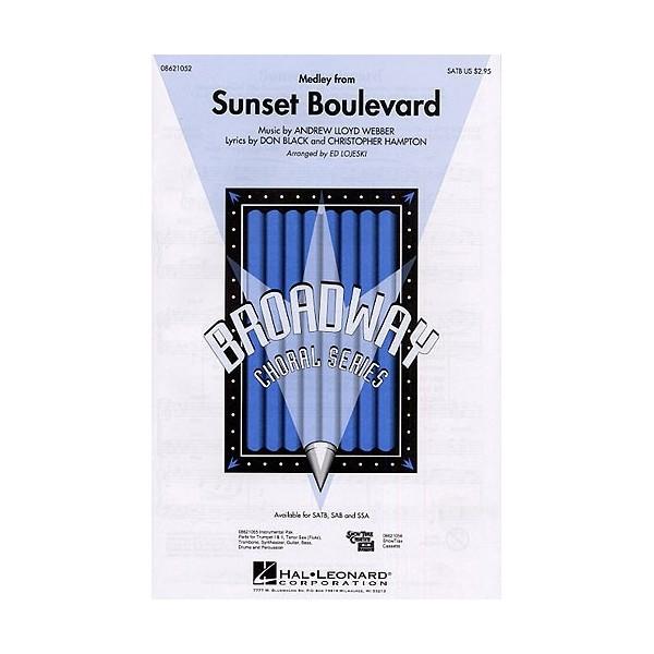 Andrew Lloyd Webber: Sunset Boulevard - Medley (SATB)