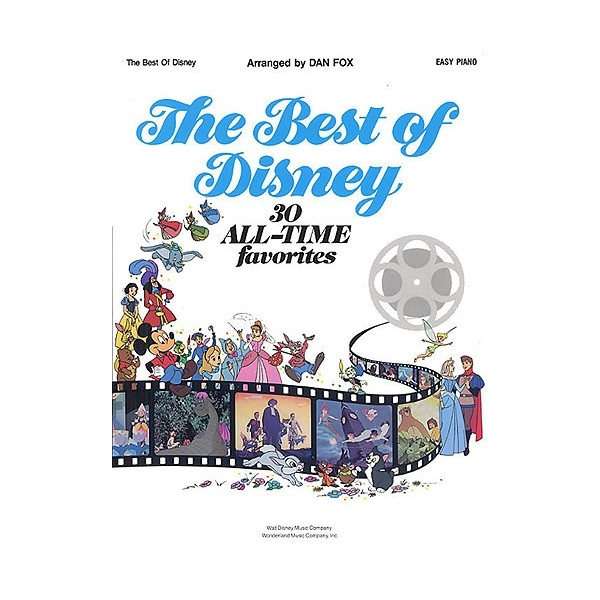 The Best Of Disney: Easy Piano