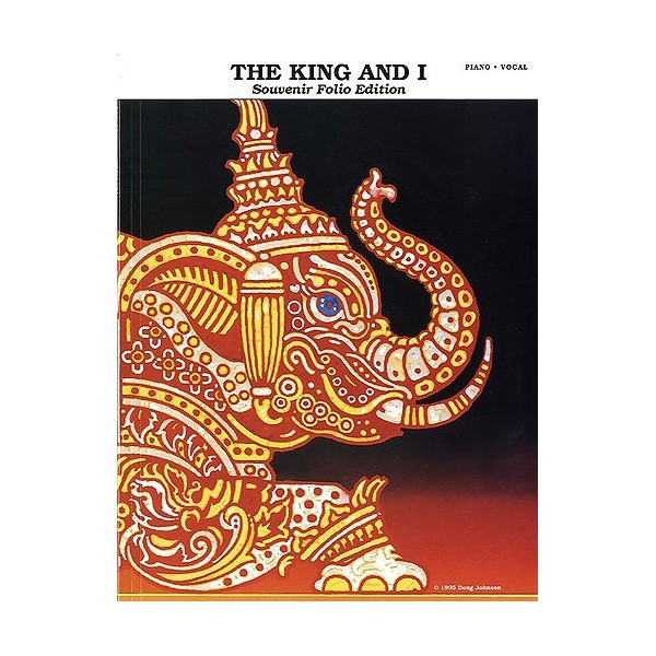 Rodgers and Hammerstein: The King And I - Souvenir Folio Edition (Vocal Selections)