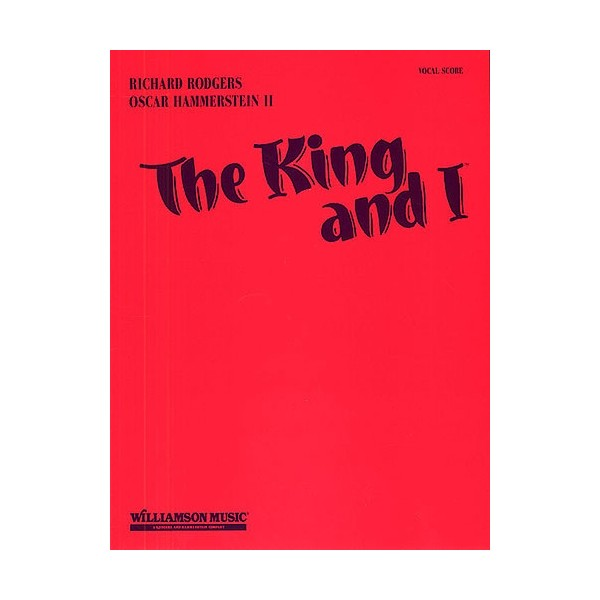 The King And I: Vocal Score