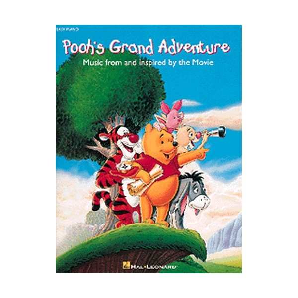 Poohs Grand Adventure Easy Piano