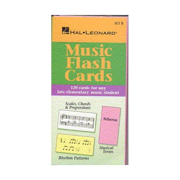 Hal Leonard Student Piano Library: Music Flash Cards Set B