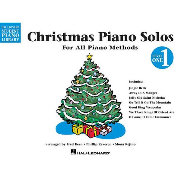 Hal Leonard Student Piano Library: Christmas Piano Solos Level 1