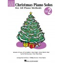 Hal Leonard Student Piano Library: Christmas Piano Solos Level 2