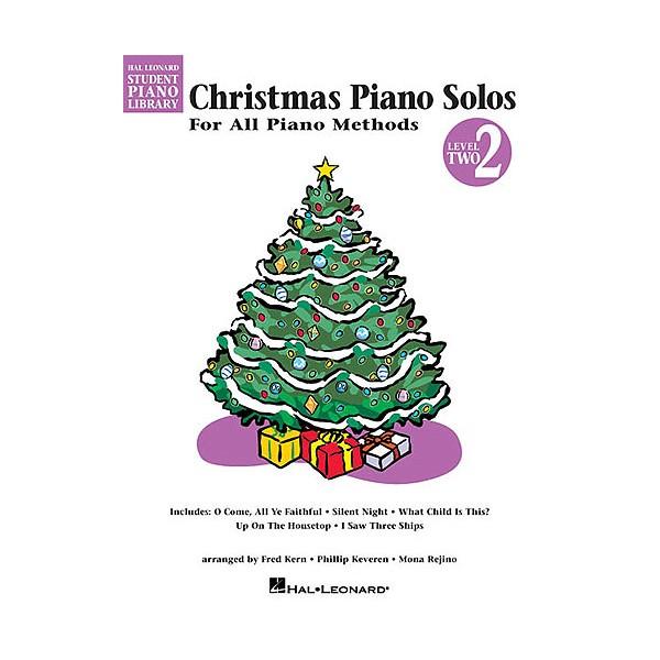 Hal Leonard Student Piano Library: Christmas Piano Solos Level 2