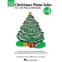 Hal Leonard Student Piano Library: Christmas Piano Solos Level 4