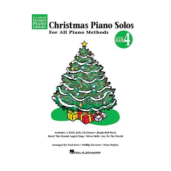 Hal Leonard Student Piano Library: Christmas Piano Solos Level 4
