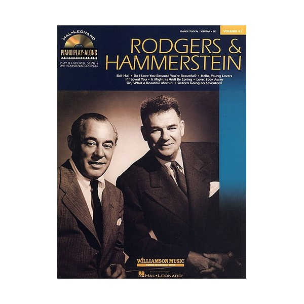 Piano Play-Along Volume 41: Rodgers And Hammerstein