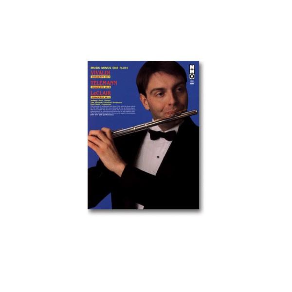 Flute Concerto in F major, op. 10, no. 1, RV433 La Tempesta di Mare: TELEMANN Flute Concerto in D major: LECLAIR Flute Concerto