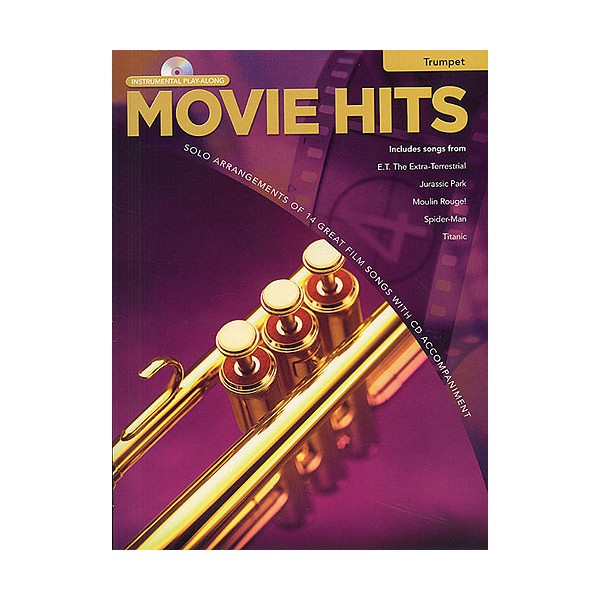 Movie Hits Instrumental Playalong: Trumpet