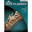 Jazz Classics Instrumental Play-Along: Alto Saxophone (Book/CD)