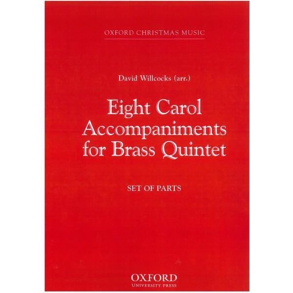 Eight Carols for Brass - Willcocks, David