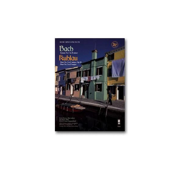 Flute Sonata No. 1 in B minor, BWV1030/KUHLAU Two Duets (2 CD set)