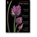 HANDEL: MAELLO: TELEMANN Three Sonatas in F major for Flute, harpsichord and viola da gamba