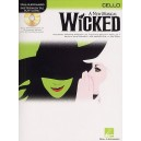 Hal Leonard Instrumental Play-Along: Wicked (Cello)