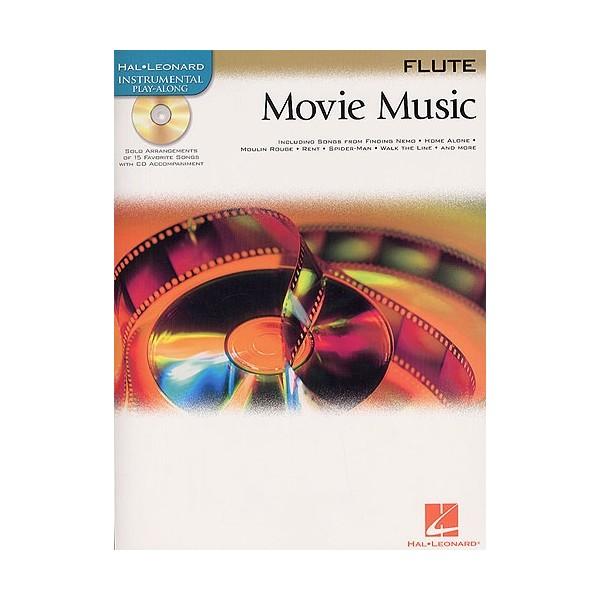 Hal Leonard Instrumental Play-Along: Movie Music (Flute)