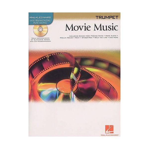Hal Leonard Instrumental Play-Along: Movie Music (Trumpet)