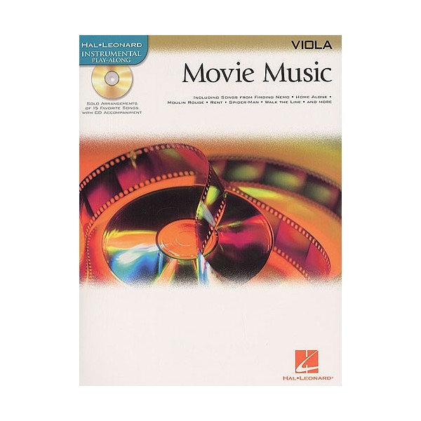 Hal Leonard Instrumental Play-Along: Movie Music (Viola)