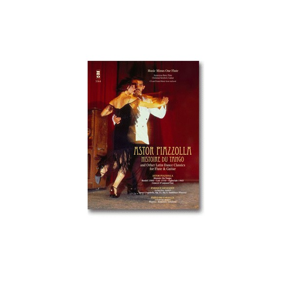 Histoire du Tango and other Latin Classics for Flute & Guitar Duet